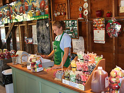 You'll find all your favorites in the country store at Alber Orchard & Cider Mill, Manchester, Michigan